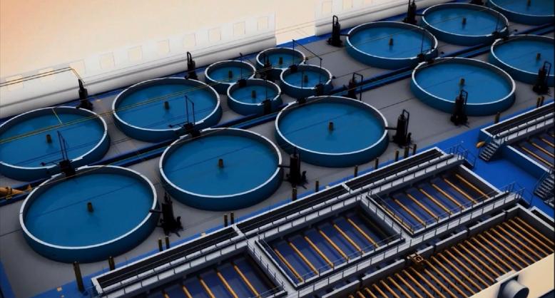 Комплекс выращивания рыбы в УЗВ