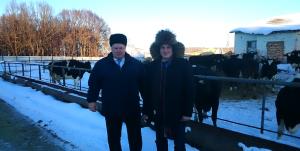 Во время визита на АПК Белоусовский