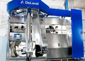 DeLaval-доильный робот